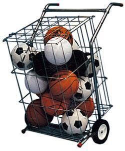 TC Sports Indoor/Outdoor Portable Basket Cart