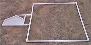 USSA Baseball Softball LL Batters Box Template