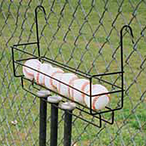 Baseball Softball Ball Bat Holder - Hangs on Fence