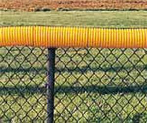 TC Sports Yellow Fence Protector Tubing Guard
