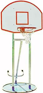 TC Sports Roll-A-Way Adjustable Basketball Goal