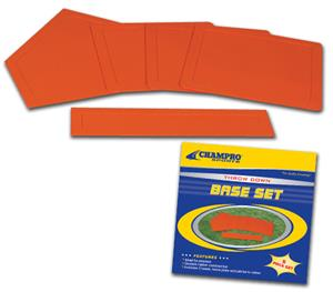 Champro Throw Down Rubber Bases Boxed (Set of 5)