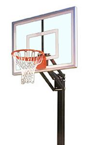First Team Champ Nitro Adjustable Basketball Goal