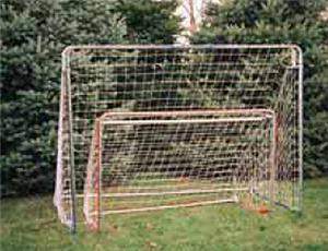 TC Sports Indoor/Outdoor Fitted Soccer Net 2 Sizes
