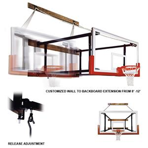 FoldaMount82 Victory Wall Mounted Basketball Goals