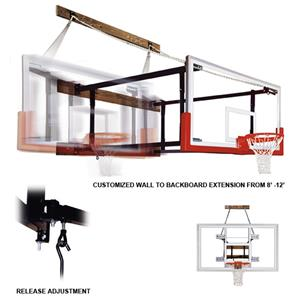 FoldaMount82 Supreme Wall Mounted Basketball Goals