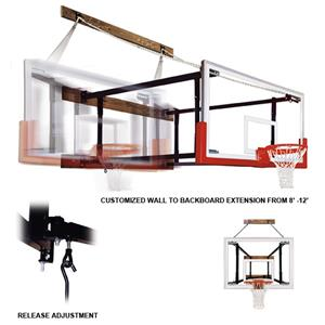 FoldaMount82 Maverick Wall Mounted Basketball Goal