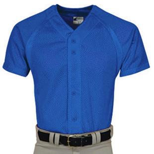 Champro Youth Pro-Plus Mesh Full Button Jersey C/O