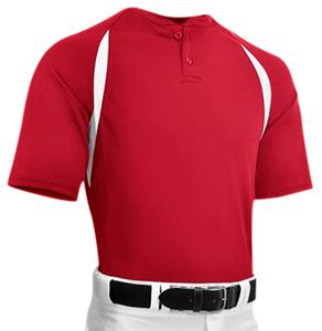 Captain 2 Youth Two Button Placket Baseball Jersey