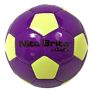Glow in Dark Nite Brite Soccer MINI Soccer Balls