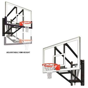 Wallmonster Arena Wall Mount Basketball System