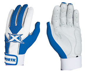 Worth Toxic Sheep Leather Batting Gloves Royal