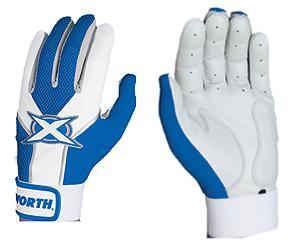 Worth Toxic Sheep Leather Batting Gloves Royal