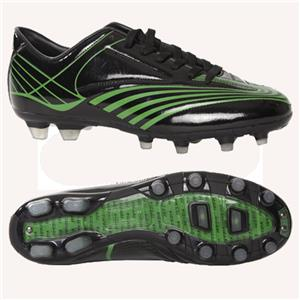 Vizari Sorrento FG Soccer Black Cleats