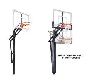 First Team Slam II Adjustable Basketball System