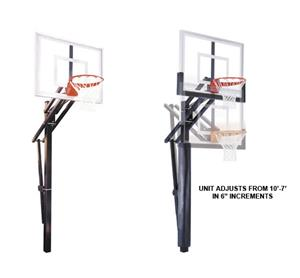 First Team Slam III Adjustable Basketball System