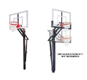First Team Slam Turbo Adjustable Basketball System
