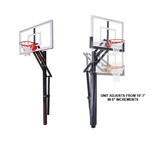 First Team Slam Nitro Adjustable Basketball System