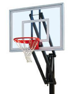 First Team Vector II Adjustable Basketball System