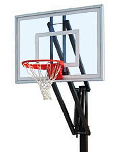 First Team Vector III Adjustable Basketball System