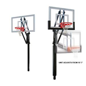 First Team Vector Nitro Adjustable Basketball Sys