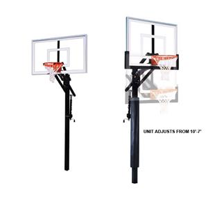 First Team Jam Nitro Adjustable Basketball System