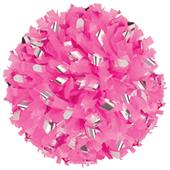 Getz Cheerleaders Pink Flash Plastic Metallic Poms