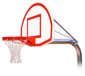 Ruffneck Max Fixed Height Basketball Goals