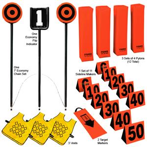 Fisher Football Economy Chain Set & Indicator Pkgs