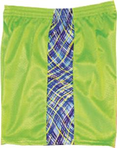 Fit2Win Mesh KIKI Lime Athletic Shorts