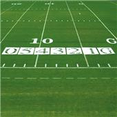 Fisher Economy 4' Football Field Number Stencils