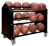 First Team FT24 Ball Hog Premium Basketball Rack