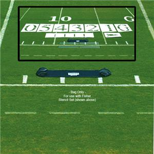 Fisher 6&#39; Football Stencil Set Carry Bags