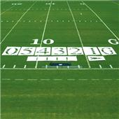 Fisher 6' Standard Football Field Stencil Sets