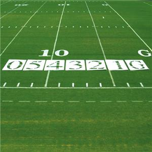 Fisher 6' Football Field Number Stencils