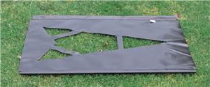 Fisher Football Field Directional Arrow Stencils