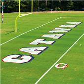 Fisher 6' Football Field Letter Stencils