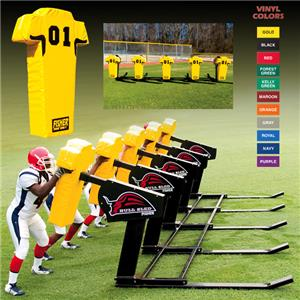 Fisher 5 Man Football Bull Sleds w/ Man Pads