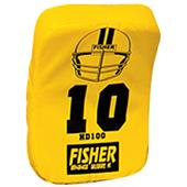 Fisher HD100 Curved Body Football Hand Shields