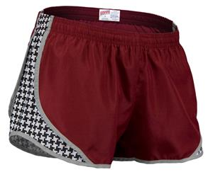 Soffe Jr. Houndstooth Print 3 1/4&quot; Shorty Shorts