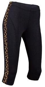Soffe JR. Leopard Print Prima Knee Tights Pants
