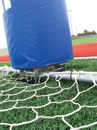 FT6000CMP - Football Post Clamps for Soccer Goals
