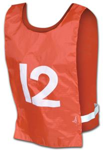 Champro Sports Nylon Pinnies Numbered 1-12 (dozen)