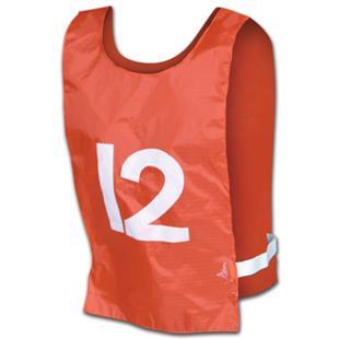 Champro Sports Nylon Pinnies Numbered 1-12 (dozen)