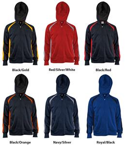 Soffe Mens Sideline Full Zip Jacket 6 Colors