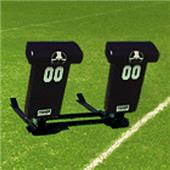 "Fisher 2 Man Football Boomer Sleds w/ ""T"" Pads"