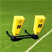 """Fisher 2 Man Football Boomer Sleds w/ """"V"""" Pads"""