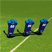 Fisher 3 Man Football Boomer Sleds w/ Man Pads
