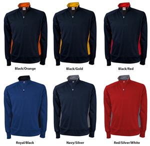 Soffe Mens Marathon Quarter Zip Jacket 6 Colors