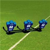 Fisher 3 Man Football Boomer Sleds w/ Low Boy Pads